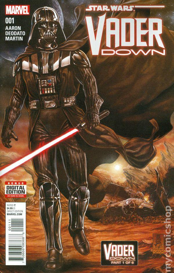 Vault 35 STAR WARS VADER DOWN #1 Marvel Comics NM 2015