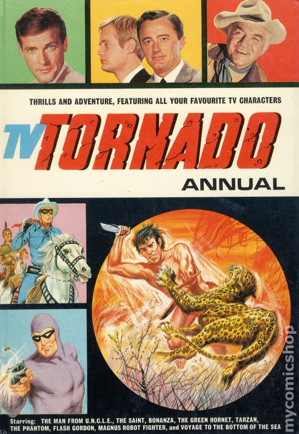 e5fb0ef8 TV Tornado Annual HC (1967-1970 World Distributors) comic books