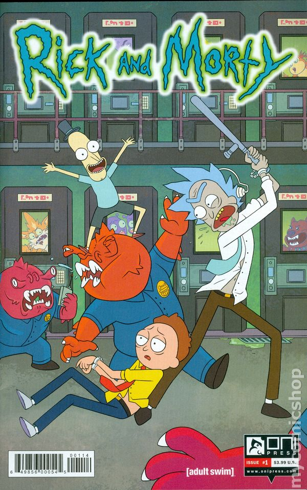 Rick And Morty 2015 Comic Books-8209