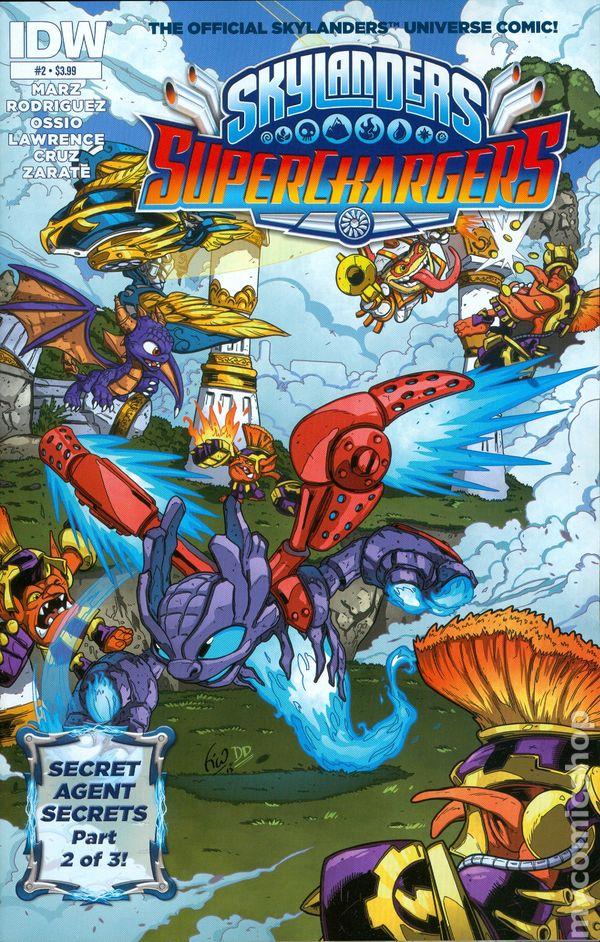 Skylanders Superchargers 2015 Comic Books