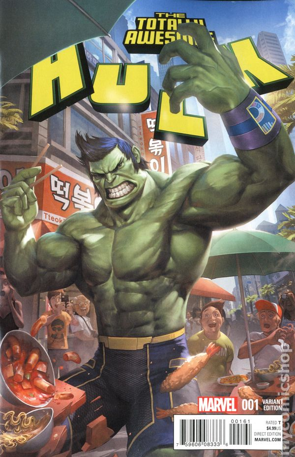 The Totally Awesome Hulk #1 Hip-Hop Variant Cover VF+//NM