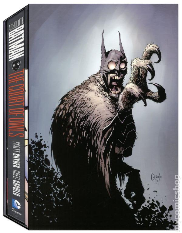 Absolute Batman The Court of Owls HC 1-1ST