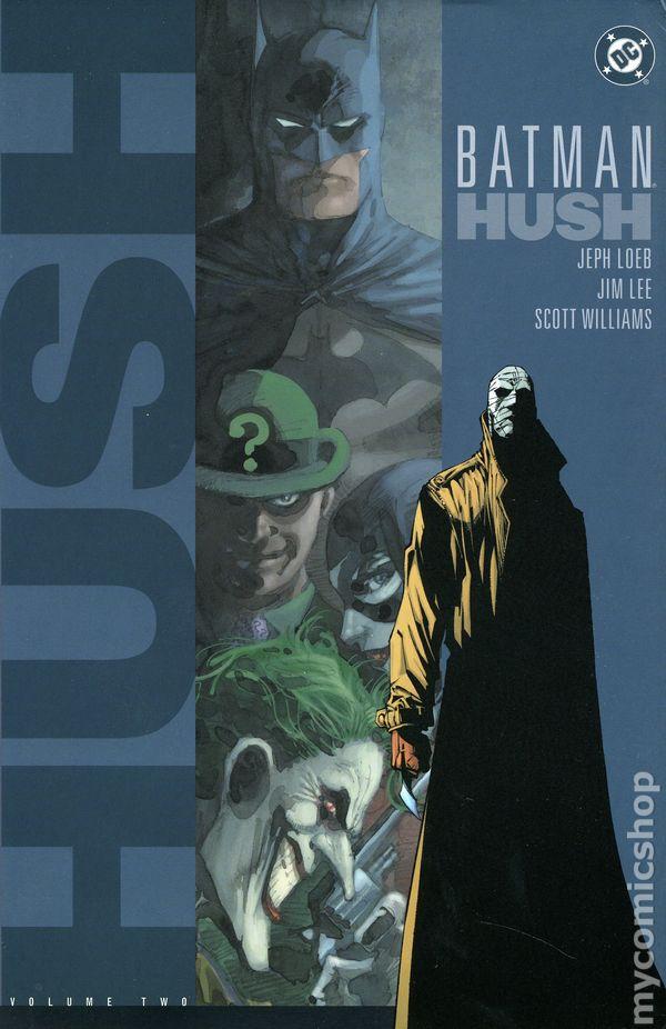 Batman Hush Hc 2003 Dc Comic Books