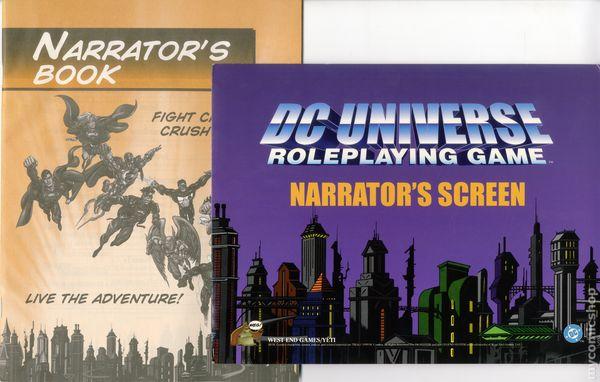 dc universe roleplaying game pdf