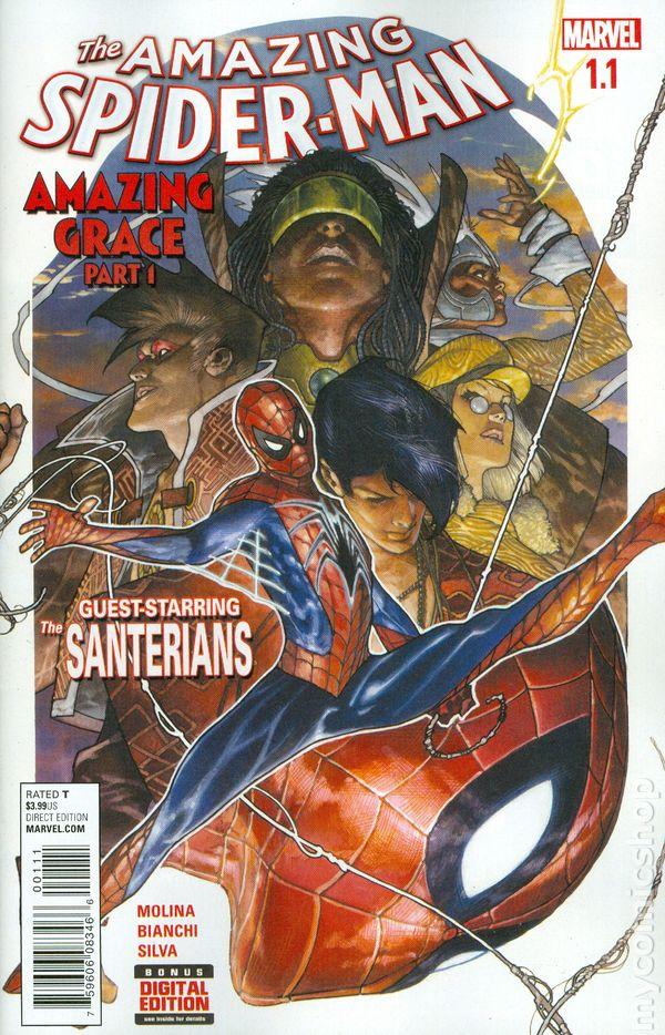 Amazing Spider-man 1.1 Amazing Grace Near Mint