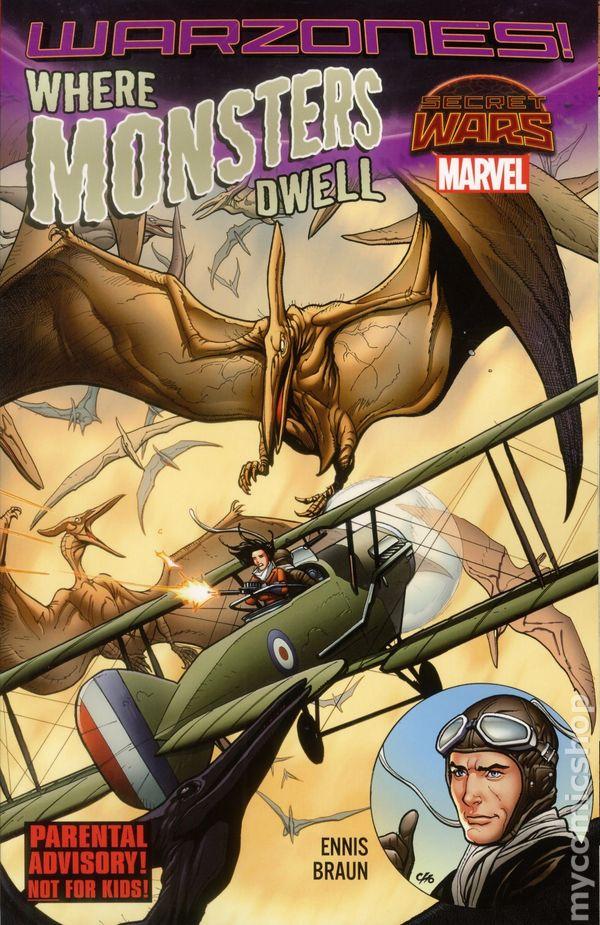 Frank Secret Wars # 1 1st Print marvel, 2015