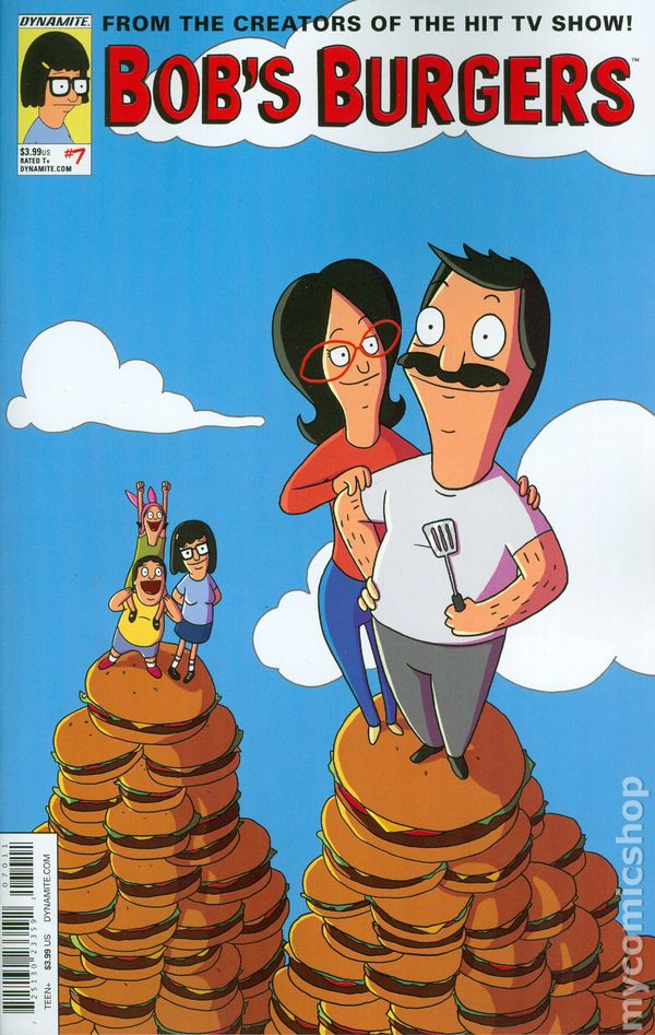 Bob's Burgers (2015 Dynamite) Volume 2 comic books