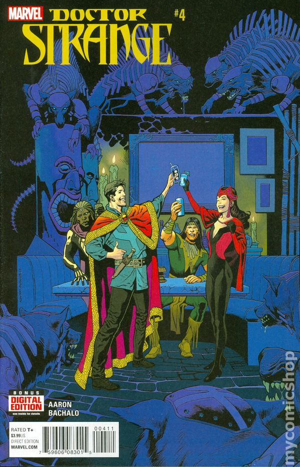 Doctor Strange Last Days of Magic #1 Marvel Comics 2016 One Shot 9.6 Near Mint+