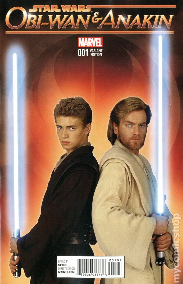 Star Wars Obi-Wan and Anakin