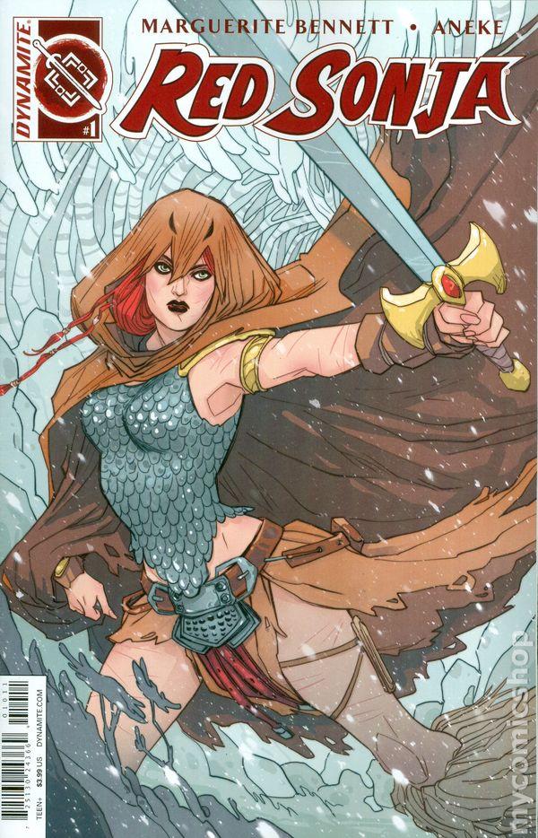 Red Sonja Volume 3 1H 2016 FN Stock Image