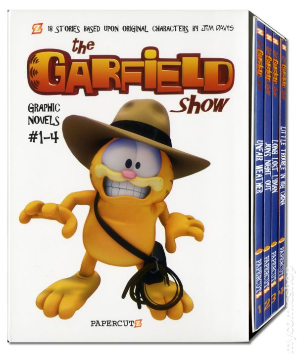 Garfield Show Gn 2013 Papercutz Comic Books