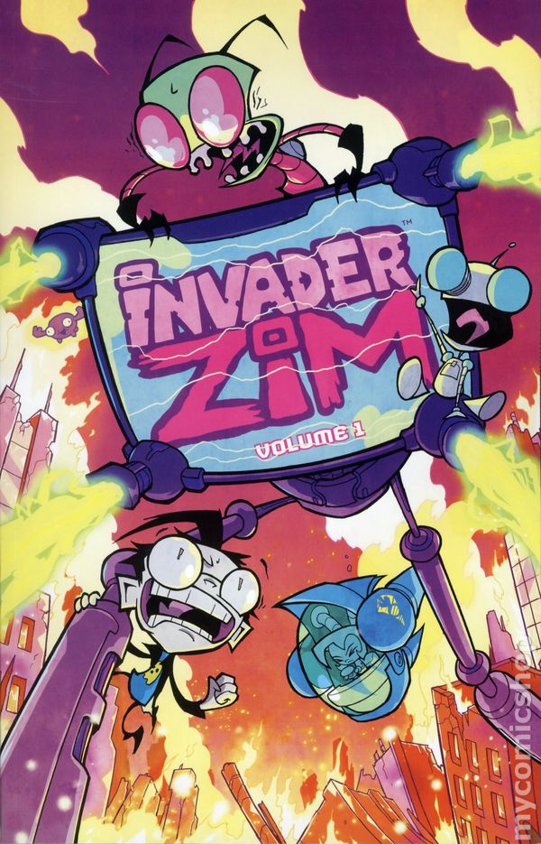 Invader Zim Tpb 2016 Oni Press Comic Books