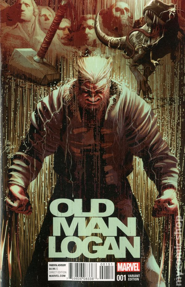 old man logan 2016 marvel comic books