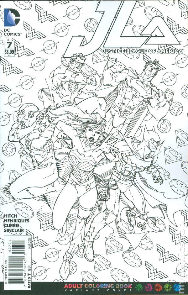 Justice League Of America 2015 7b Nm