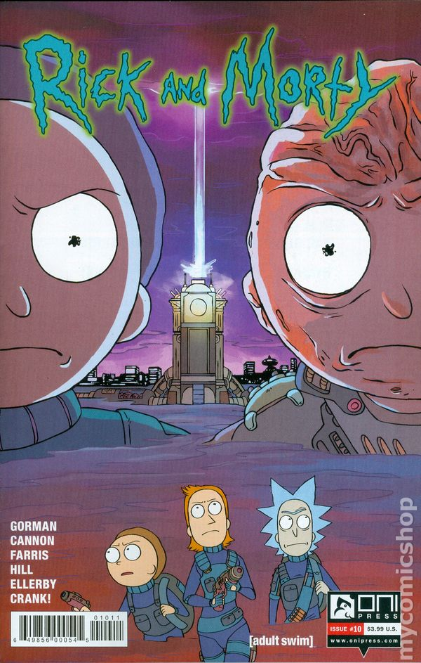 Rick and Morty #50A Stern Variant VF 2019 Stock Image