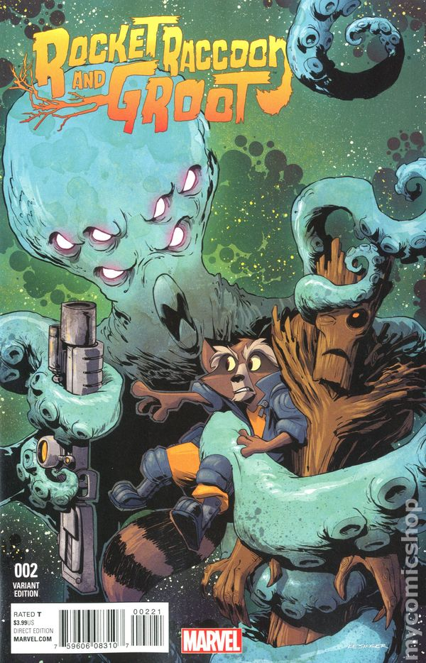 Rocket Raccoon and Groot (2016) comic books