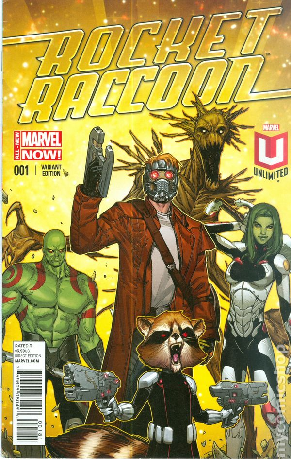 Rocket Raccoon (2014 2nd Series) comic books