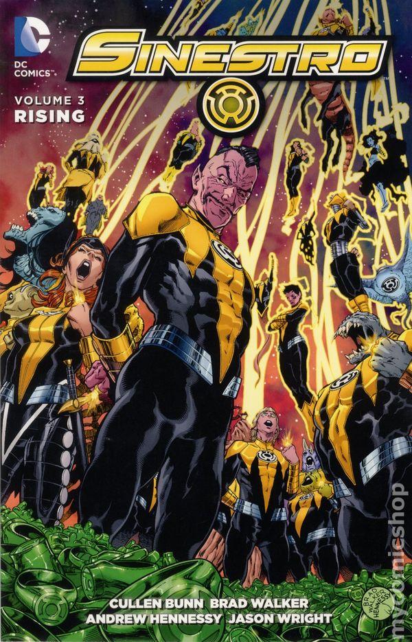 sinestro tpb 2015 2016 dc comic books