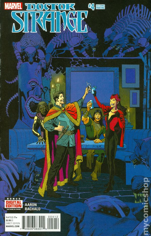 Doctor Strange 5th Series #26 2017 VF Stock Image