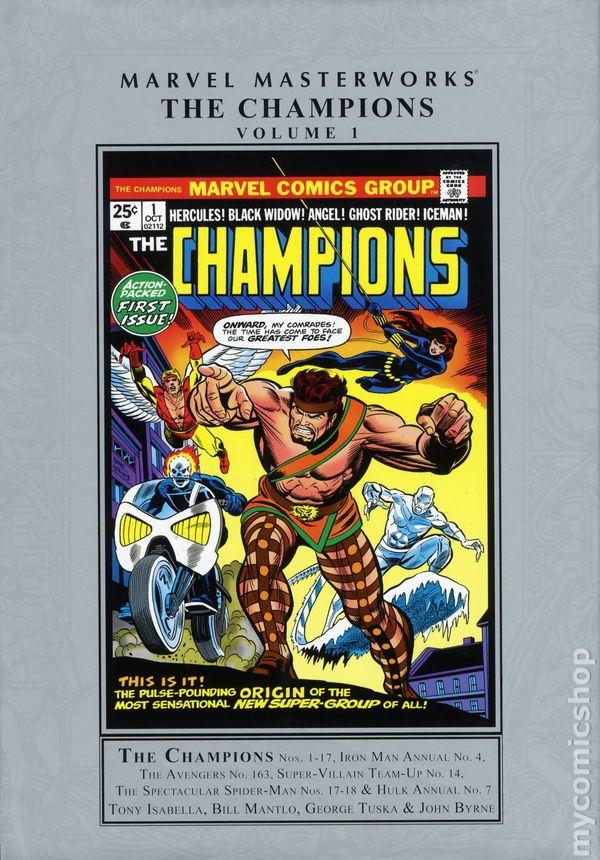 Marvel Masterworks Champions HC #1-1ST