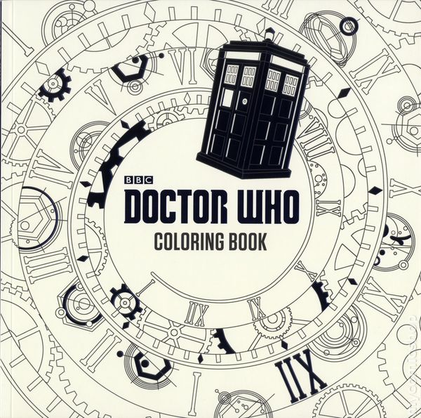 Doctor Who Coloring Book SC 2016 Price Stern Sloan Comic Books