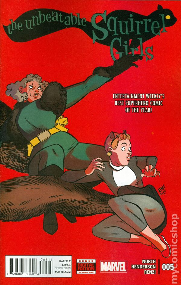 #44A Henderson NM Stock Image 2nd Series Unbeatable Squirrel Girl