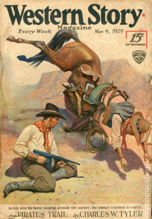 Western Story Magazine - August 23,1930 - Pulp Magazine