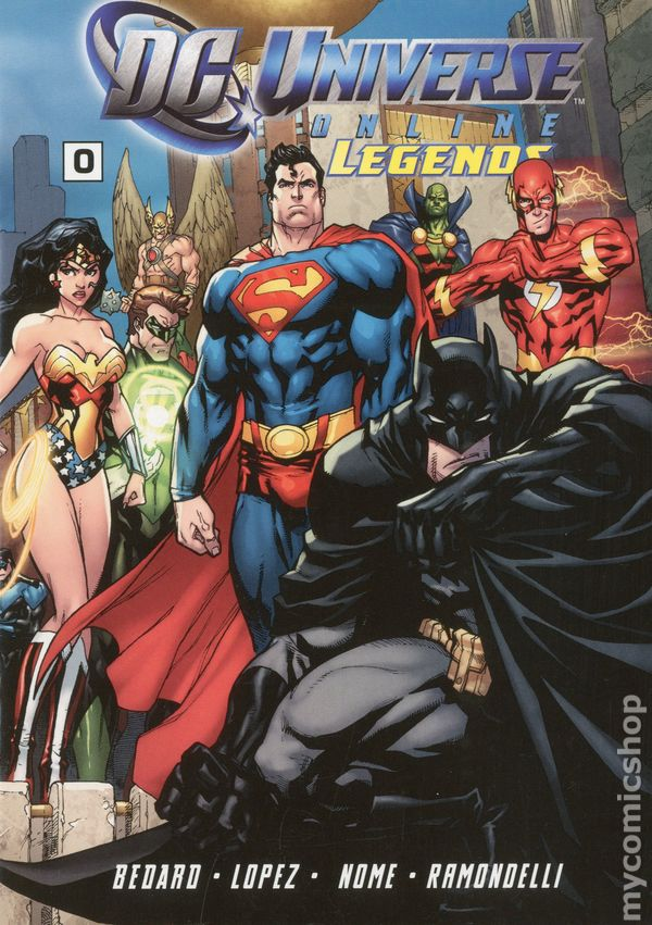 Legends of the DC Universe #1 - 41 (1998-2001) – GetComics