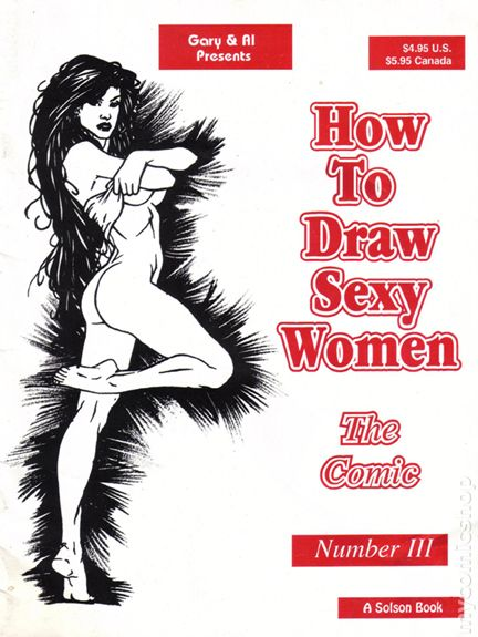 How to draw a sexy woman