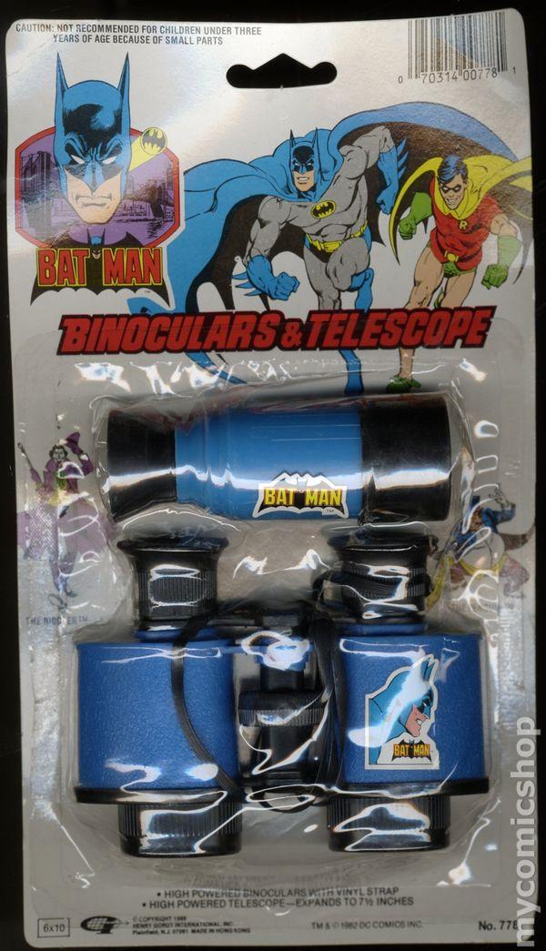Batman Crime Fighting Toys 1982 1988 Dc Comic Books