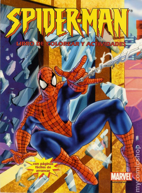 spider man coloring and activities book sc 2004 paradise press spanish edition 1 - Coloring And Activity Books