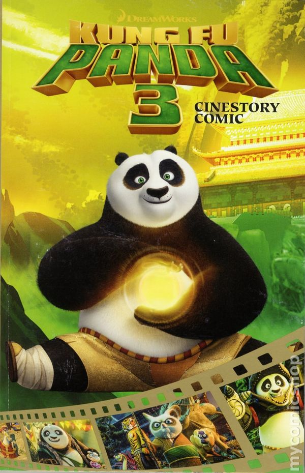 Kung Fu Panda 3 Cinestory Comic Gn 2016 Joe Books Dreamworks Comic Books