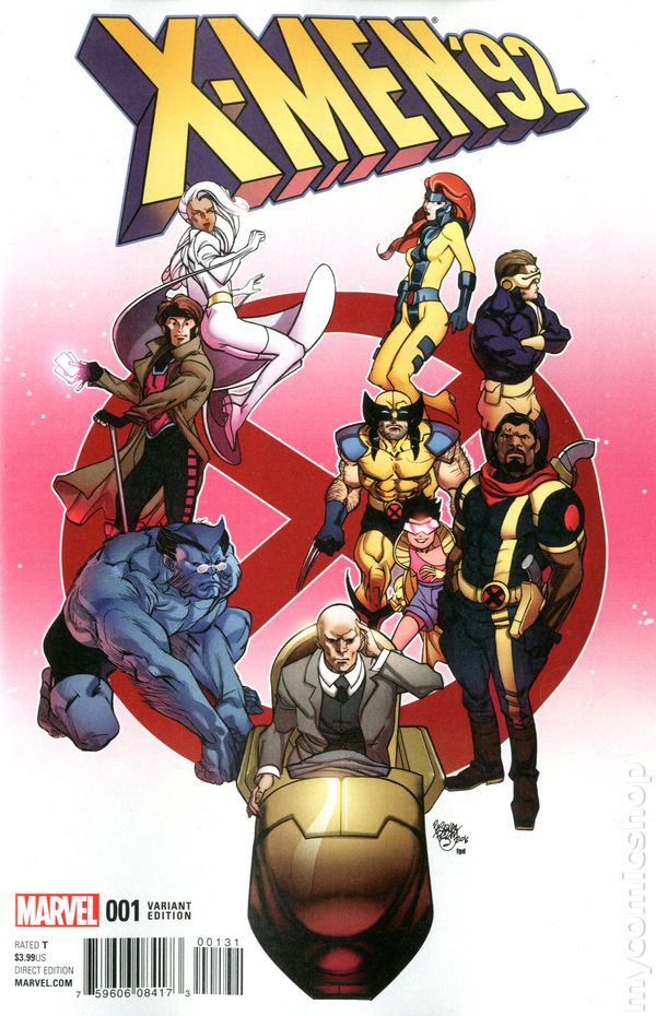 X-Men /'92  #3  Variant Edition  Marvel Comics CB16859