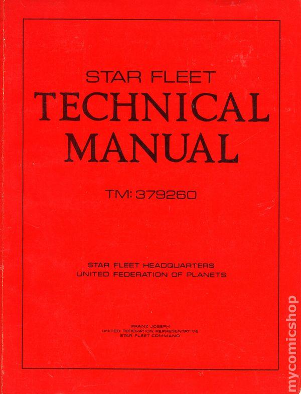 Star fleet technical manual: franz joseph: amazon. Com: books.