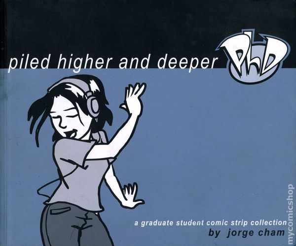 Collection comic graduate strip student