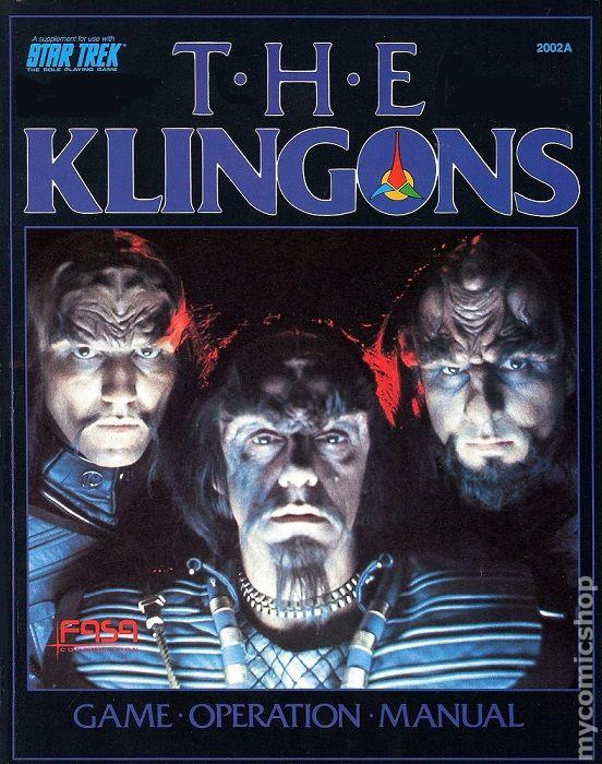 klingons game operation manual 1984 star trek rpg comic books rh mycomicshop com star trek legacy instruction manual star trek ps3 instruction manual