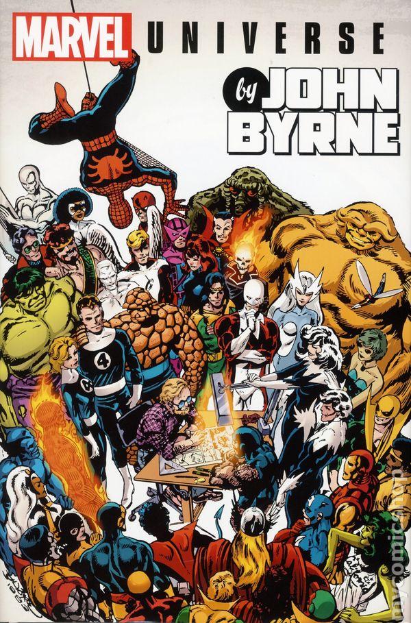 Marvel Universe Omnibus HC By John Byrne #1-1ST