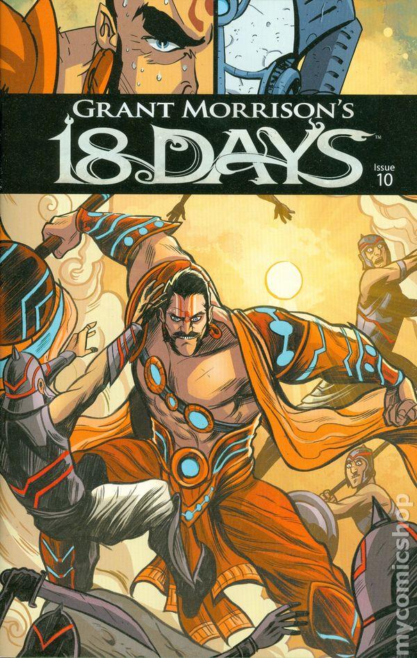 18 Days 2015 Graphic India Comic Books 2016