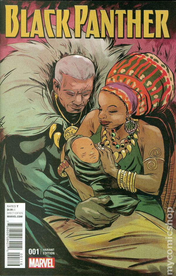 Black Panther Comic Books Issue 1