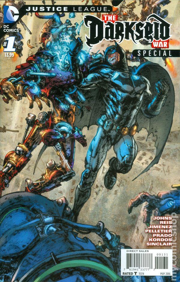 Justice League Darkseid War Special (2016 DC) comic books