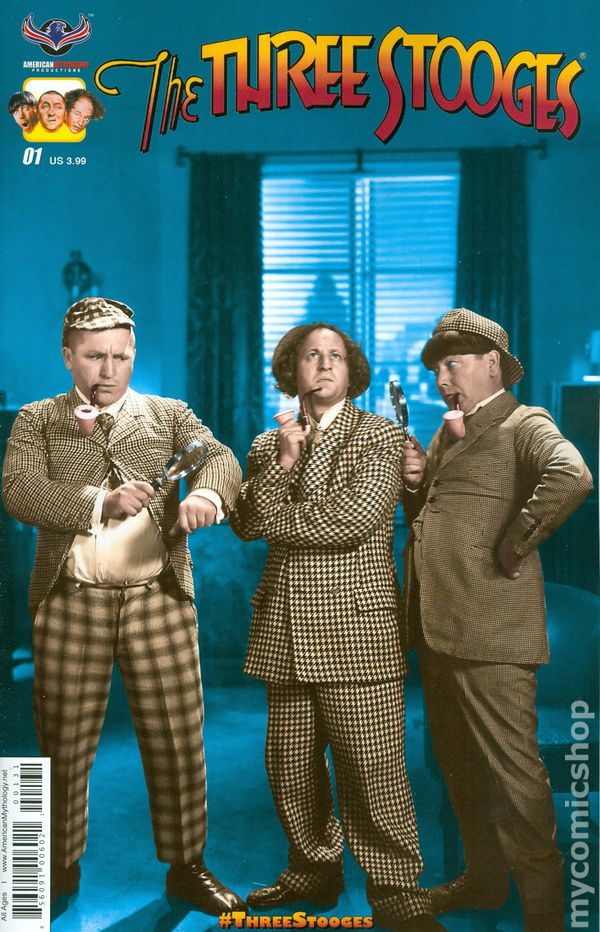 The Three Types Of Totalitarian Systems: Three Stooges The Boys Are Back (2016) Comic Books