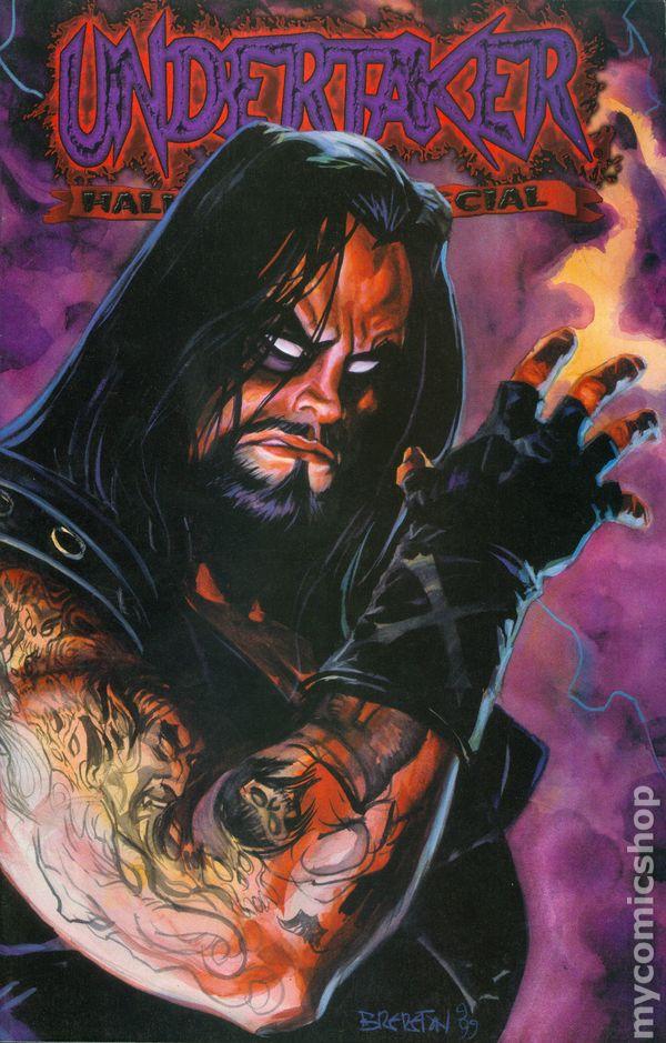 undertaker halloween special 1999 comic books