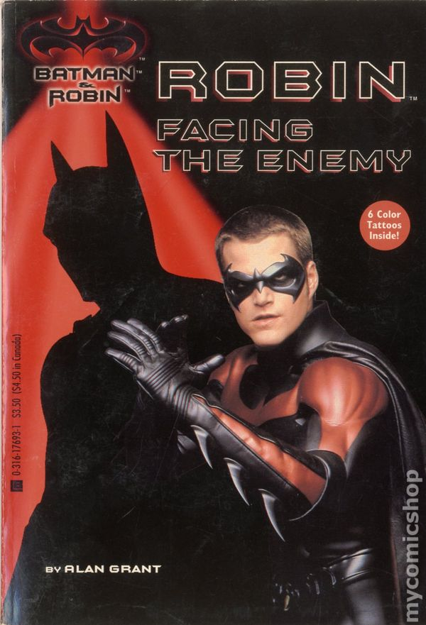 Batman And Robin Facing The Enemy SC 1997 LBC Storybook 1 1ST