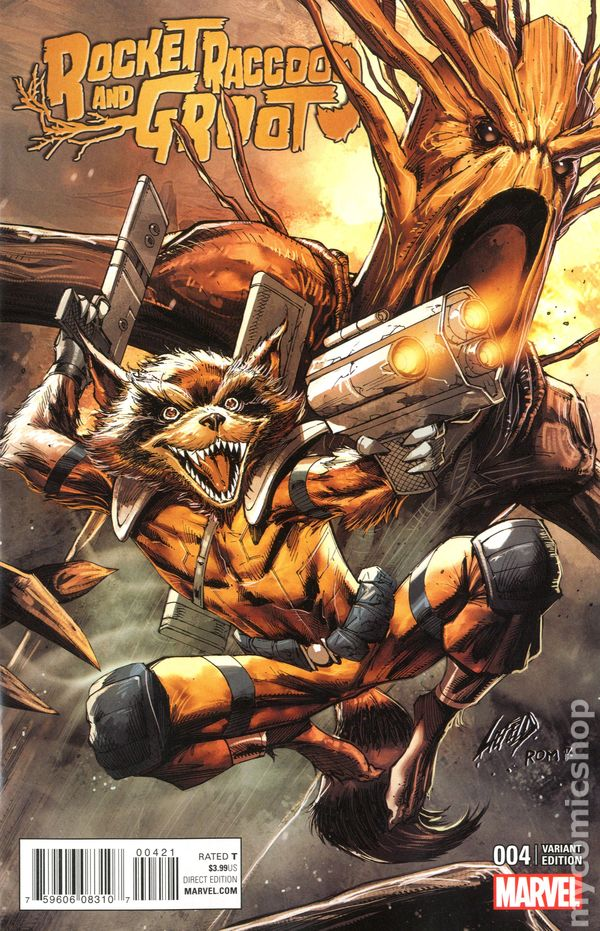 Rocket Raccoon comic books issue 4