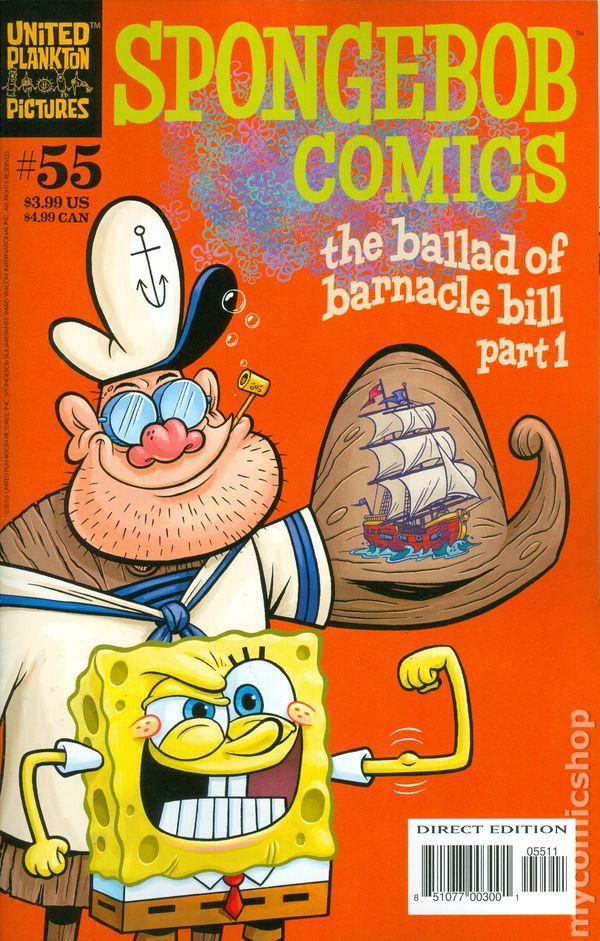 Spongebob Comics 2011 United Plankton Pictures Comic Books