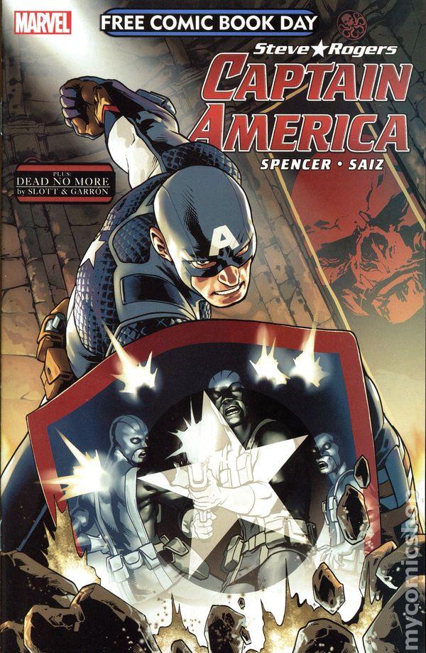 Captain America Spider Man Dead No More 2016 Marvel Fcbd Comic Books