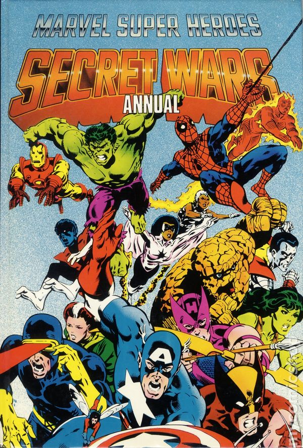 Marvel Super Heroes Secret Wars Annual HC (1985) comic books