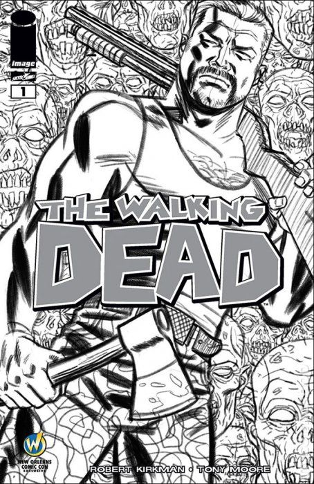 The Walking Dead Comic Books Issue 1