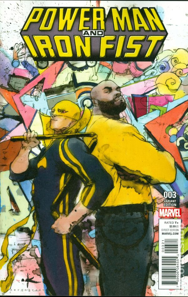Power Man And Iron Fist 2016 Marvel 3B