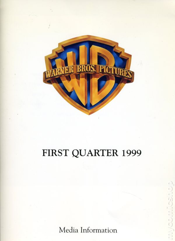 Warner Bros Films First Quarter Media Press Kit (1999) KIT-1999 VF
